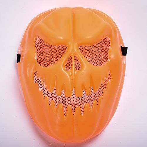 Kostüm Ani Motion - Seba5 Home Dark Harvest Scary Kürbis Ani-Motion Halloween Mask Zubehör Adult