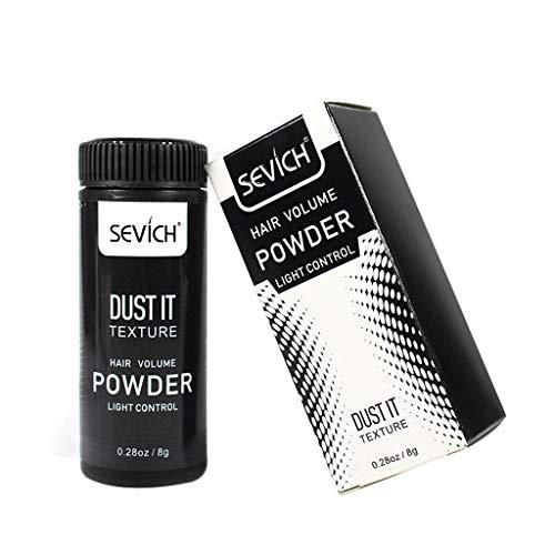 Gewicht-management-faser (Haar Volumen Mattierendes Puder YunYoud Faser Haarspray Best Dust It Haarfreies Waschöl, flauschiges Puder)