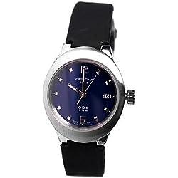 Certina Cer-1862 C25421004256 - Reloj para mujeres, correa de cuero color negro