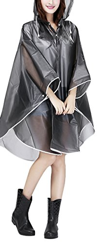 Mobility-Scooter-Rain-Cape-Raincoat-Adult-Emergency-Waterproof-Reusable-Hooded-Rain-Poncho-See-Through-Rain-Mac-Rainwear-With-Hoods-for-Festivals-Theme-Parks-Camping-Farming-Fishing-XL