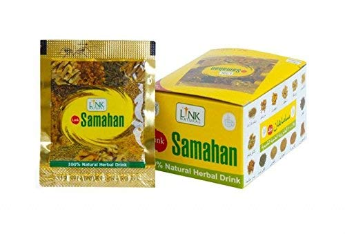 Samahan Ayurveda herbal natürlicher Tee, gute und effektive Vorbeugung und Linderung von Erkältungen und erkältungsbedingten Symptomen, 60 Päckchen je 4g