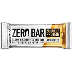 Biotech USA Zero Bar - 20 Barritas x 50 gr Chocolate-Caramel