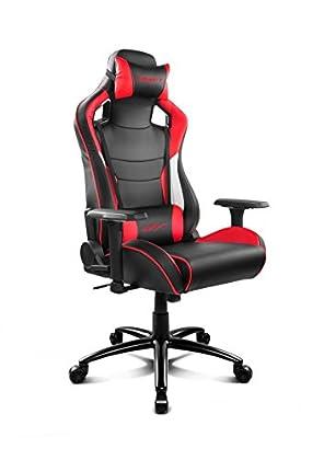 Drift DR400BR - Silla Gaming, Color Negro y Rojo