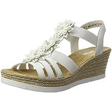 Suchergebnis auf Amazon  für Sandalen  weiße Sandalen für mit Absatz 38 776041