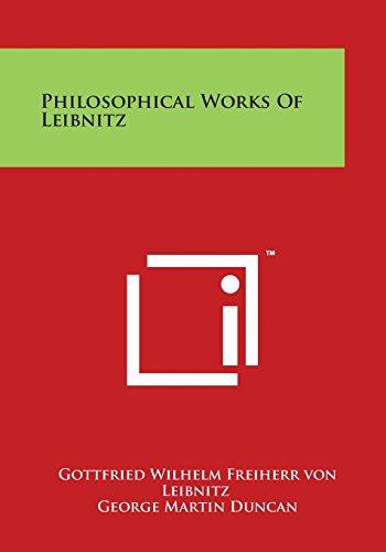 Philosophical Works of Leibnitz