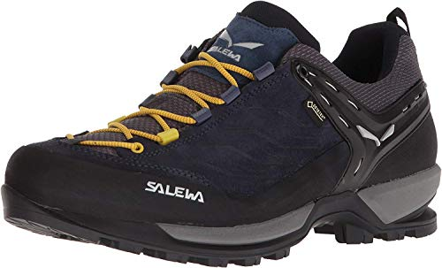 Salewa Herren MS MTN Trainer GTX Trekking- & Wanderhalbschuhe, Schwarz (Night Black/Kamille 0960), 43 EU