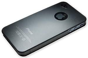 Xcessor Dark Magic Ultra Thin Dur Dos Étui Coque Housse De Protection Pour iPhone 4 et 4S. Gris/Transparente