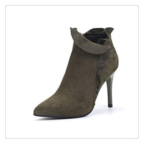 Women Family Christmas Cotton Winter Shoes Women Boot ()