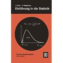 Einführung in die Statistik (Teubner Studienbücher Mathematik)