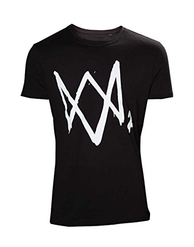 Watch Dogs 2 - Black T-shirt With Large Logo -