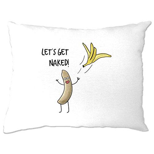 Banana Hoodie Erwachsene (Lassen Sie sich Naked Banana Peel-Streifen Haut Adult Humor lustigen Slogan Get)