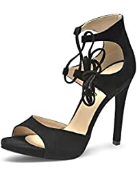 Evita Shoes Emma Damen Sandalette Rauleder