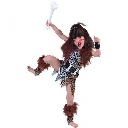 Fyasa 705950-t03Cave Girl Kostüm, Mittel