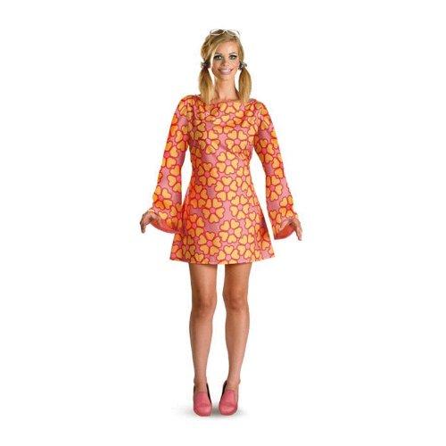 BARBIE 60er-Style Kleid Kostüm, Gr. 38-40 Größe: (Kostüme Barbie Für Erwachsene)