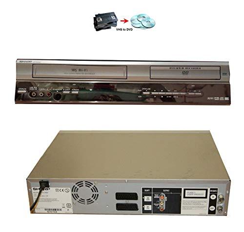 Sharp-DVRW250Recorder DVD Combo VCR Player Rca Vcr Vcr Combo