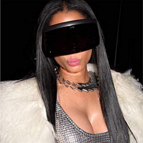 ANSKT Sonnenhut Brille übergroße Box Hut Brille Anti-Peeping Persönlichkeit Brille @ 1