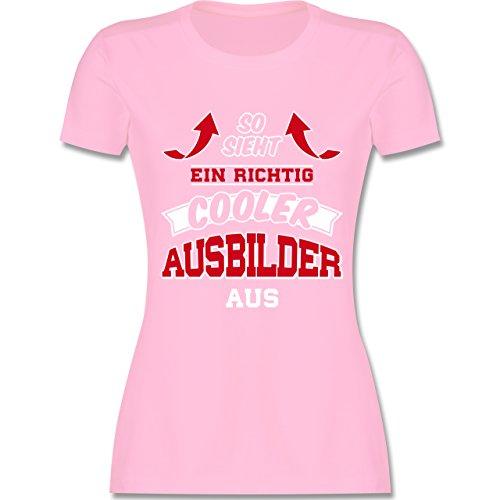 99383c5c5f6444 Shirtracer Sonstige Berufe - So Sieht ein Richtig Cooler Ausbilder Aus -  Damen T-Shirt
