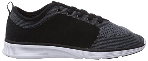 KangaROOS K- Light 8004, Unisex-Erwachsene Sneakers Schwarz (black/mid grey 523)