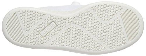 Bronx Bbelugax, Baskets Basses femme Blanc - Weiß (1436 White/silver)