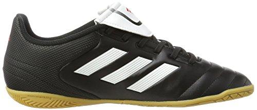 adidas Unisex-Kinder Copa 17.4 in J Fußballschuhe Schwarz (C Black/Ftw White/C Black)