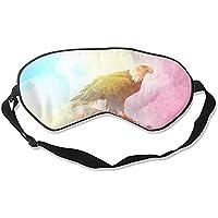 Bunter Adler Schlafmaske zum Schlafen konturierte Augenmaske, Seide, Best Night Blinder Eyeshade für Männer und... preisvergleich bei billige-tabletten.eu