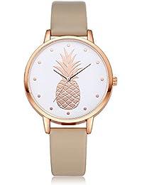 Amazon.es  Versace - Piel  Relojes a7c9caf79c44
