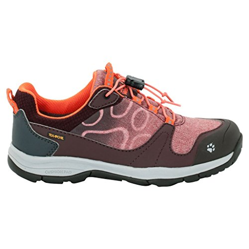 Jack Wolfskin Grivla Texapore Low Girls Größe 40 dark red (Low Girl)