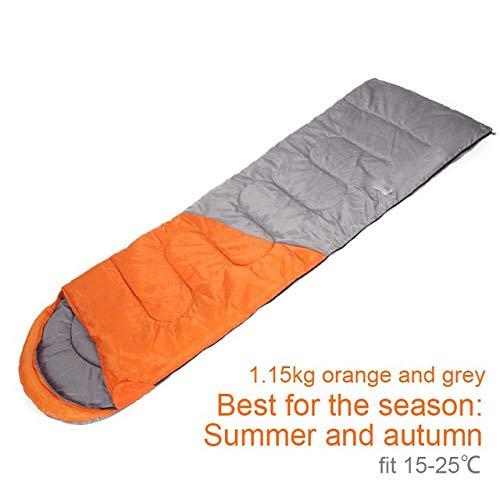 ARXUNZI Schlafsäcke Spleißen Schlafsack Outdoor Sport Wasserdicht Thermisch Komfortabel Beheizt Lazy Bag Winter Camping