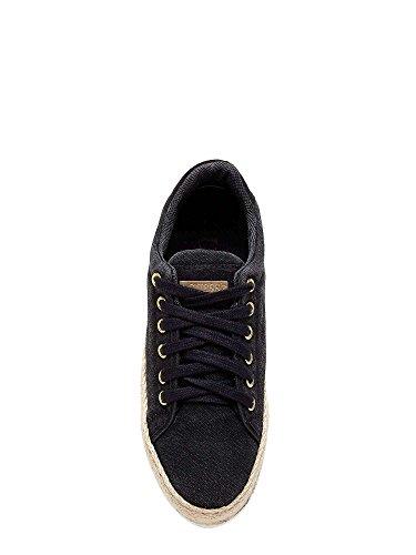 Guess FLMRM2 FAB12 Sneakers Femmes Noir