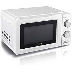 Spice SPP043-W Jalapeno Light Four à micro-ondes Microwave 20 litres décongélation rapide, blanc