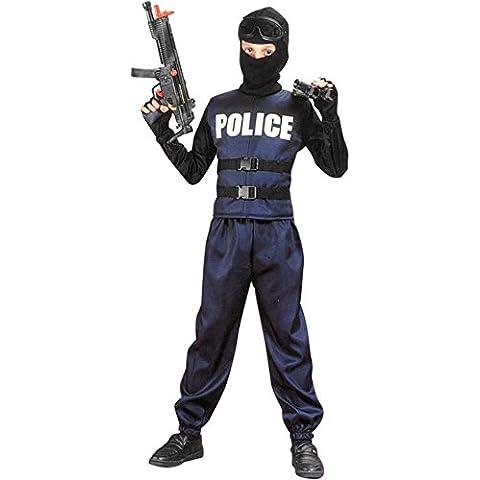 Kid's Swat Team Police Costume (Size:Medium 7-10) by (Swat Team Abbigliamento)