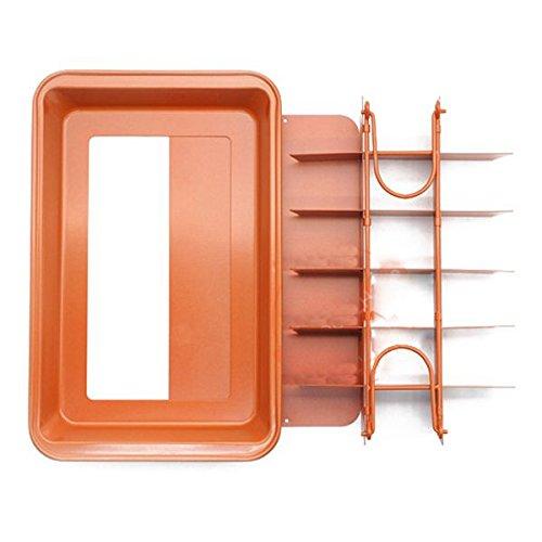 nie Antihaft-Backform mit integriertem Slicer/Cutter (Gross) ()