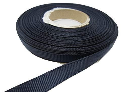 Beautiful Ribbon 1 Rolle 10mm x 20m Ripsband Navy dunkelblau doppelseitig gastgeschenke Hochzeit Ostern Weihnachten Handwerk gerippt. 10 mm (1 Ripsband)
