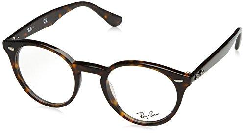 Ray-Ban Herren Brillengestell 0rx 2180v 2012 49, Braun (Dark Havana)