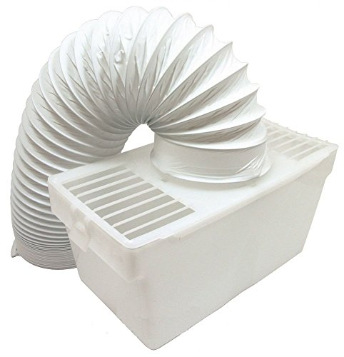 Lazer Electrics Universal White Knight Beko Tumble Dryer Indoor Condenser Vent Kit Box with Hose