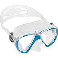Cressi Ranger Máscara, Unisex Adulto, Transparente/Azul, Talla Única