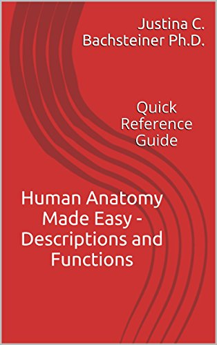 Human Anatomy Made Easy - Descriptions and Functions: Quick Reference Guide (English Edition)