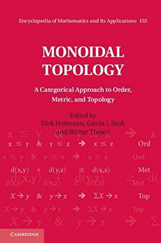 Monoidal Topology: A Categorical Approach to Order, Metric, and Topology (Encyclopedia of Mathematics and its Applications) (2014-09-29)