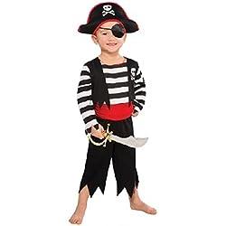 Disfraz de pirata grumete para niño, varias tallas.