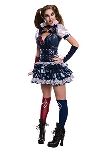 Kostüm Arkham Harley Knight - Secret Wishes Arkham Knight Harley Quinn Fancy dress costume Small