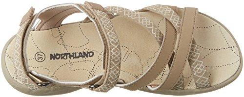 Northland Professional Damen Mia Leathers Sport-& Outdoor Sandalen Beige (camel/sand)