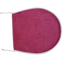 Ridder 7222060-350 Atlantic - Funda para asiento de WC (47 x 50 cm, 100 % poliacrílico), color rosa