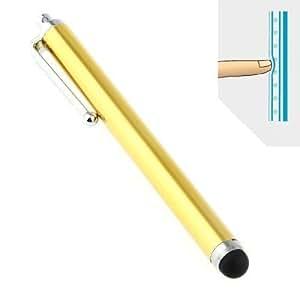 TK DESIGN - Stylet Stylo doré pour écrans tactiles N989-6 Cadeau utile - PVC PE