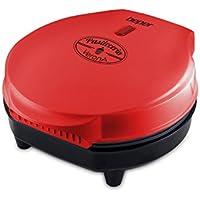 Beper 90.606 Maker Máquina para Hacer Omelette, 700 W, Rojo