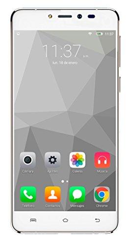 Funker Z5 - Smartphone libre 4G  32GB  2GB RAM  QuadCore  ZYGNUS PRO  color blanco