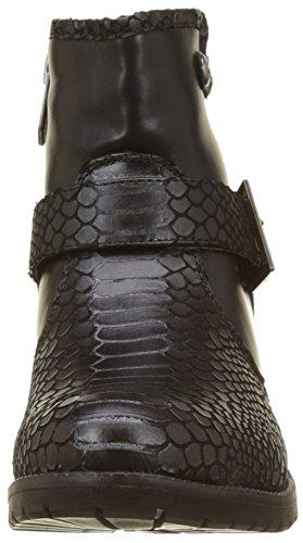 CHATTAWAK Damen Paola Biker Boots Noir (Noir)