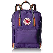 FJÄLLRÄVEN Kånken Mochila, Unisex Adulto, (Purple/Rainbow Pattern), ...