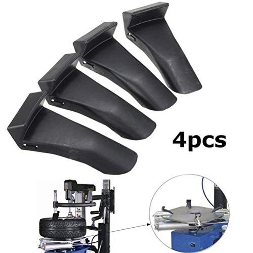 FADACAI 4 STÜCKE Kunststoff Einsätze Backenklemme Abdeckung Schutz Felgenschutz Für Reifenmontiermaschine -