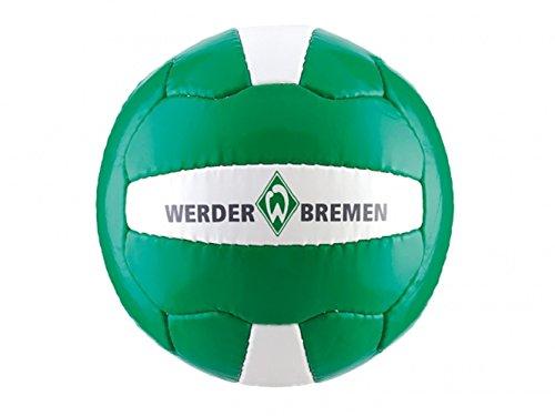 SV Werder Bremen Logo Ball Fußball (grün/weiß, 5) -