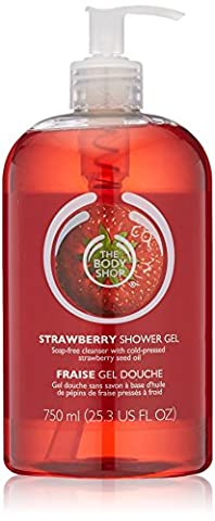 the body shop strawberry shower gel 750ml